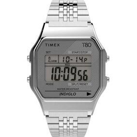 Timex T80 Klokke Sølv