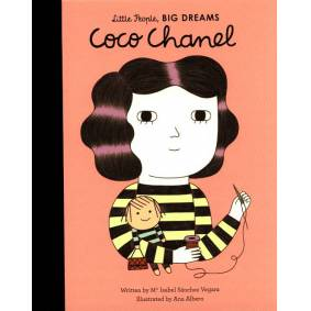 New Mags Little People, Big Dreams - Coco Chanel Coffee Table Book Rosa
