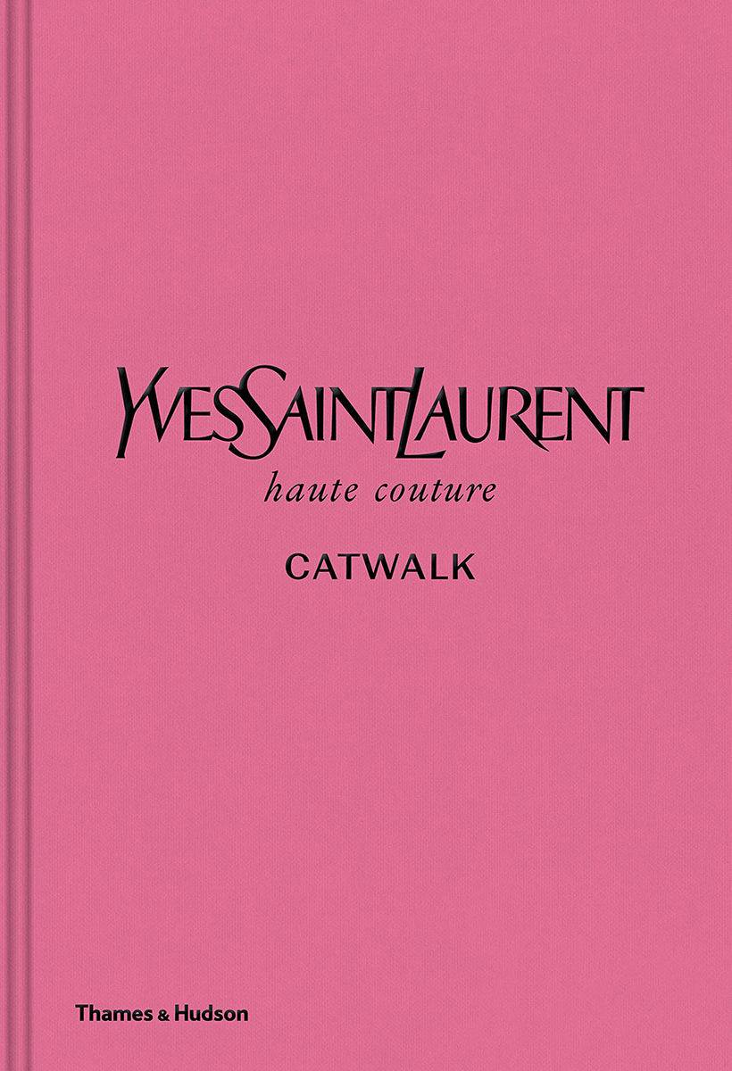 New Mags Yves Saint Laurent Catwalk Coffee Table Book Rosa  unisex