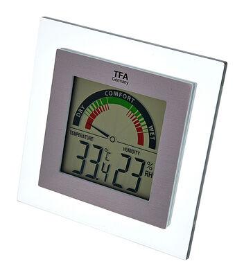 TFA Plexi Thermo-Hygrometer