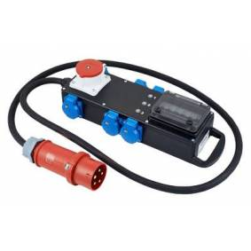 RiedConn STG 32/01-6/2K Stromverteiler Vollgummi