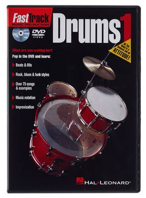 Hal Leonard Fast Track Drums 1