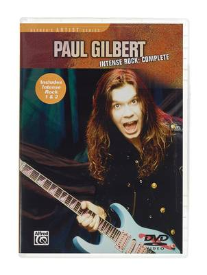 Alfred Music Publishing Music Sales Paul Gilbert Intense Rock