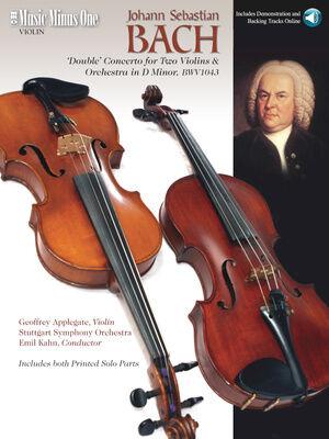 Music Minus One Hal Leonard Bach Concerto BWV1043 Violin