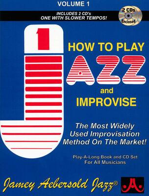 Jamey Aebersold Play Jazz Improvise Vol.1 englisch