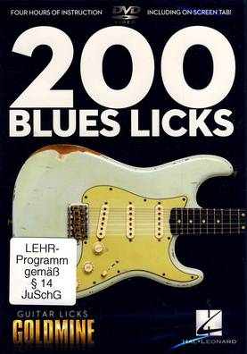 Hal Leonard 200 Blues Licks - Guitar Licks