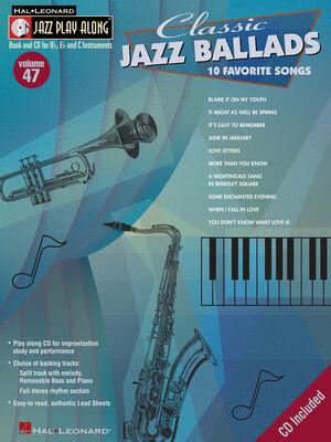 Hal Leonard Jazz Play-Along Classic Jazz