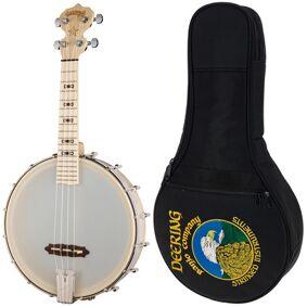 Deering Goodtime Banjo Ukulele Bundle