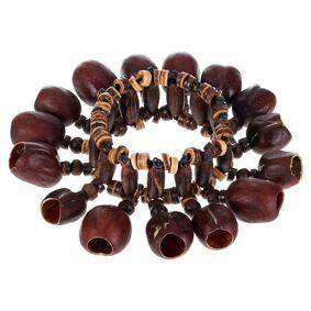 Terre Bracelet Shaker Kemiri Seeds
