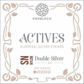 Knobloch Strings Double Silver Special Nylon200