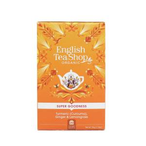 English Tea Shop Te Turmeric, Ginger & Lemongrass (koffeinfri) 20stk