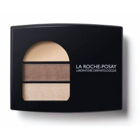 La Roche-Posay Respectissime Ombre Douce Trio Eyeshadow 02 Smokey Brown