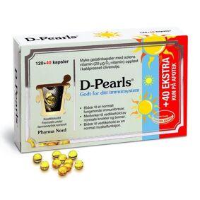 D-Pearls 20mcg Kapsler 120+40stk