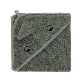 Liewood Albert Baby Towel Dino Faune Green