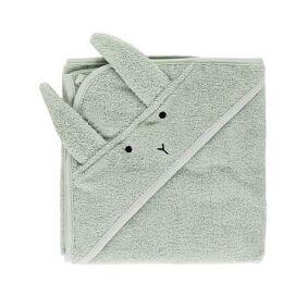 Liewood Albert Baby Towel Rabbit Mint