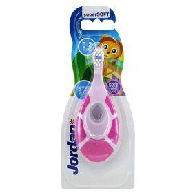 Jordan Baby Toothbrush Pink