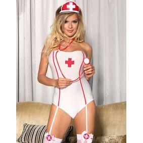 Ohyeah Nurse Costume Teddy