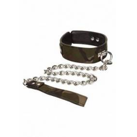 CalExotics Camo Collar & Leash