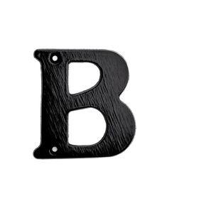 Habo Bokstav 572-B Sort Sb