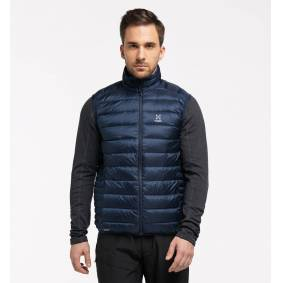 Haglöfs Roc Down Vest Men - Herre - S - Tarn Blue