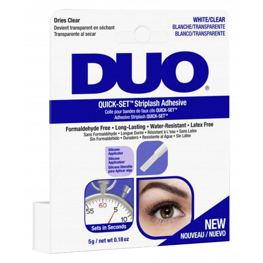 Ardell Duo Quick Set Adhesive Brush Clear 5g