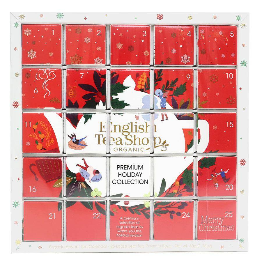 Pukka English Tea Shop Red Advent Calendar Puzzle 2021