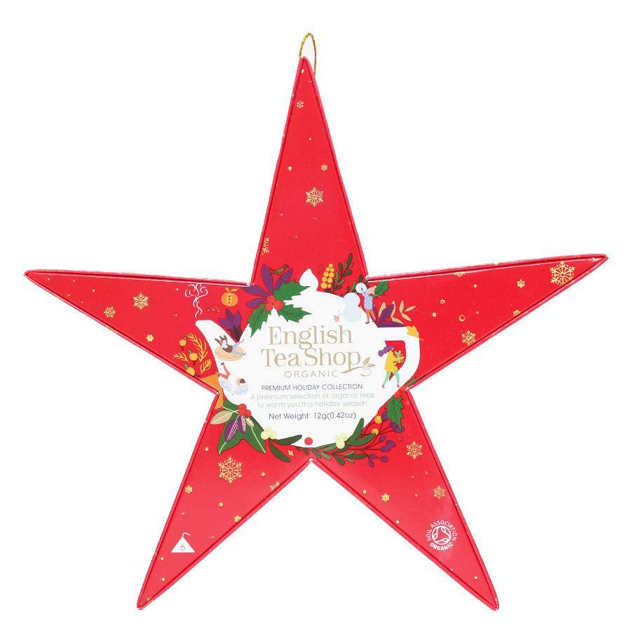 English Tea Shop Red Star Gift Pack 2021 6pcs