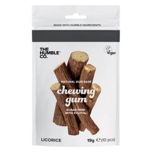 The Humble Co. The Humble Co Humble Natural Chewing Gum Salty Licorice 10pcs