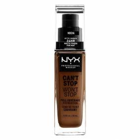 NYX Professional Makeup Can't Stop Won't Stop Full Coverage Foundation Mocha 30ml