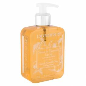 Durance Liquid Marseille Soap With Peach And Basil 300ml