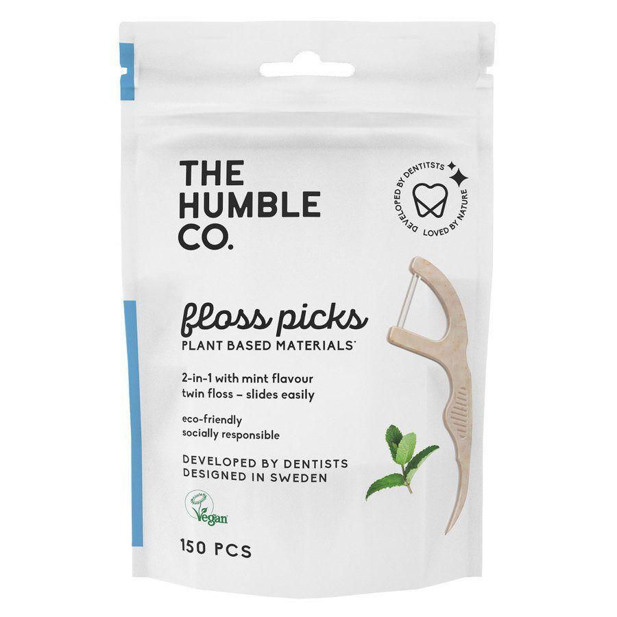 The Humble Co. The Humble Co Dental Floss Picks Mint 50pcs