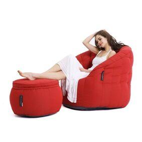 Butterfly Chaise Sett Crimson Vibe (Sunbrella)