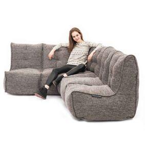 Mod 4 L Sofa Modulsofa Luscious Gray