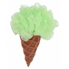 Baby Basic Bath Sponge Ice Cream Cone Green