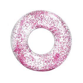 Intex Transparant Pink Glitter Tube