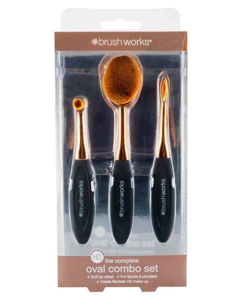 Brushworks Oval Combo Set
