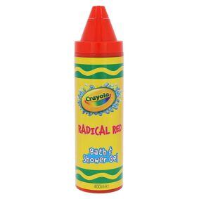 Crayola Radical Red Bath & Shower Gel 400 ml