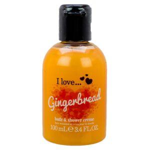 I love... I Love Gingerbread Bath & Shower Cremé 100 ml