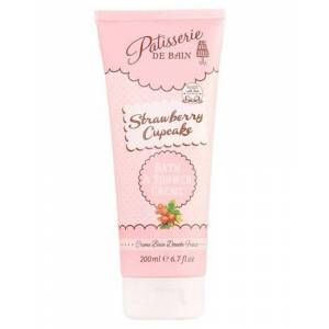 Patisserie De Bain Strawberry Cupcake Bath & Shower Creme 200 ml