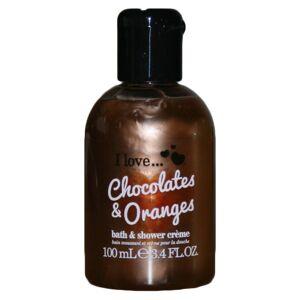I love... I Love chocolates & Oranges Bath And Shower Cremé 100 ml