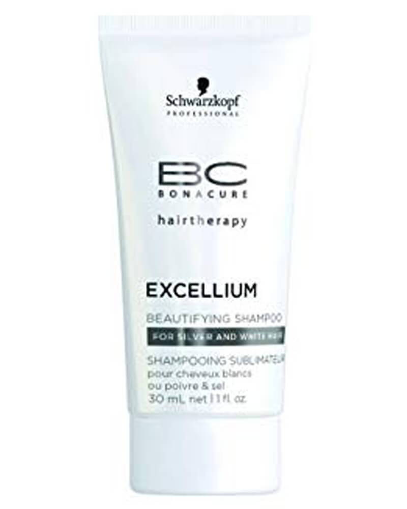 Schwarzkopf BC Bonacure Excellium Beautyfying Shampoo For Silver And White Hair   30 ml