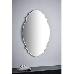 SCARLETT speil - 90 cm Svart/glass