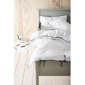 NELLIE MINI sengesett sprinkelseng 2 deler - økologisk White mdf / metall