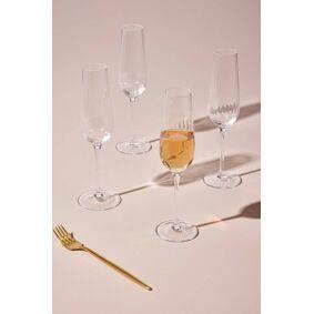 AKIA champagneglass 4-pk Transparent