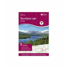 Nordeca Rondane Sør 1:50 000 Turkart 1:50 000