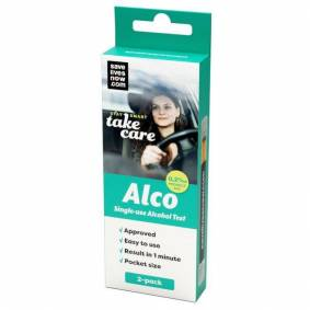 Alco Engangs-alkotest 2-pk.