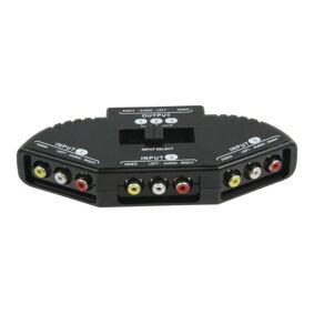 RCA-switch, 3-veis