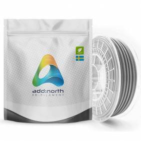 Addnorth PETG-filament for 3D-skrivere 1,75 mm Lysegrå