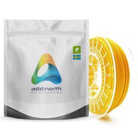 Addnorth PETG-filament for 3D-skrivere 1,75 mm Gul