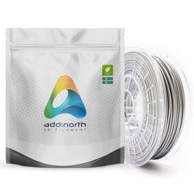 Addnorth E-PLA-filament for 3D-skrivere 1,75 mm Sølv